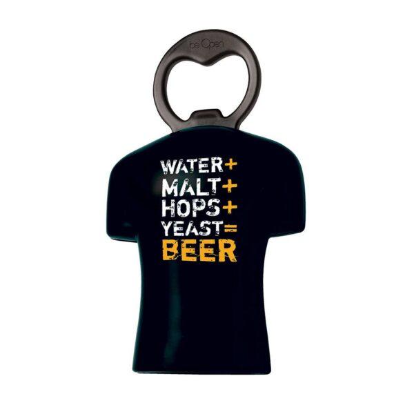 Imagem de Abridor de Garrafa Receita de Cerveja Be Open.